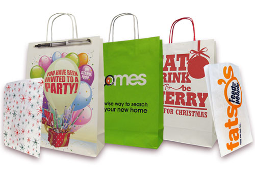 Branded products - Kraft Bags