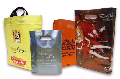 Branded products - Plastic Bags