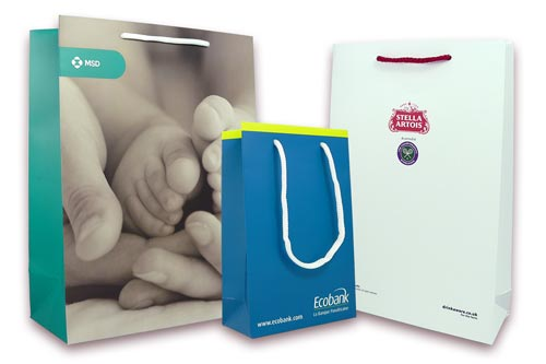 Branded products - Luxury Paper Bags
