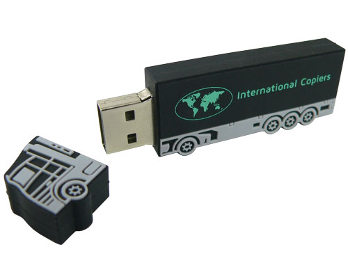 Bespoke lorry USB - open