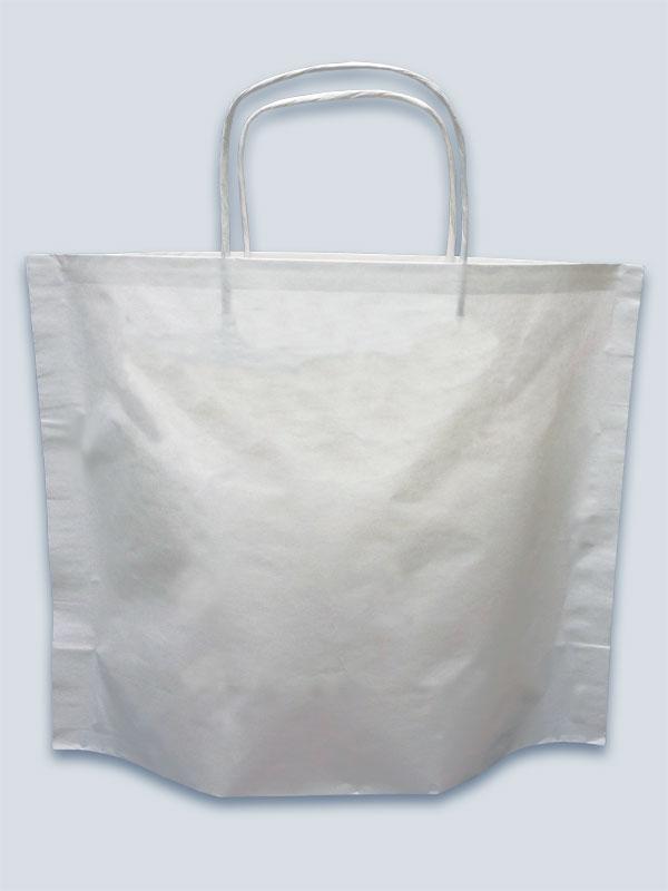 Pine kraft paper bag - plain stock