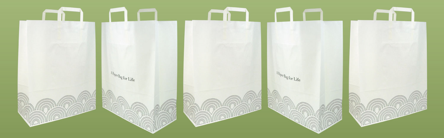 Evergreen Bag - Our brand new eco-friendly paper bag